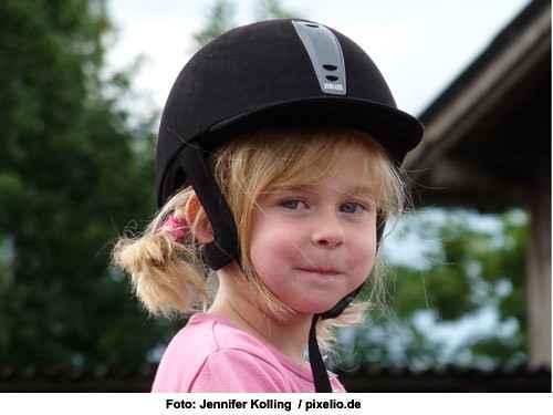 Mein Kind will reiten - erste Ausrüstung - der Reithelm